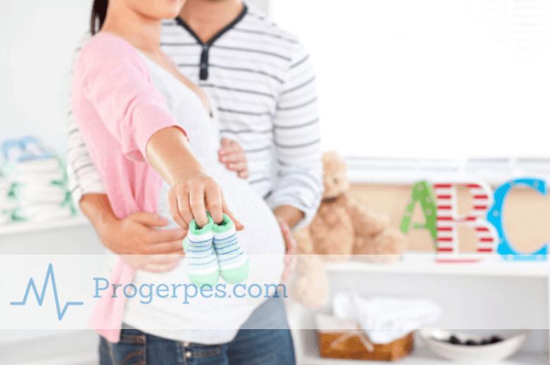 Герпес при беременности на ранних
