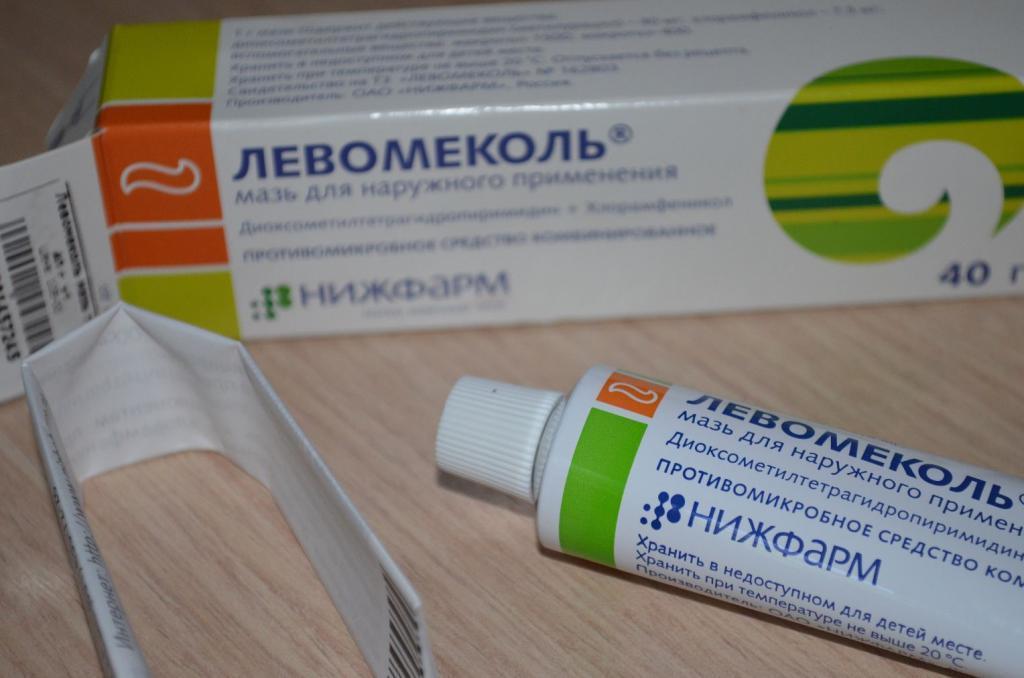 Использование Левомеколя при лечении баланопостита