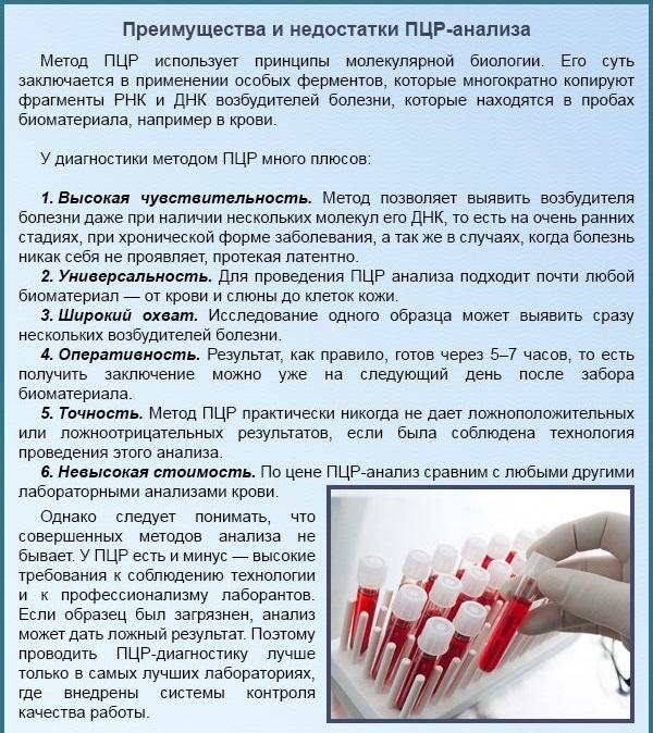 Расшифровка ПЦР и биохимического анализа на гепатит